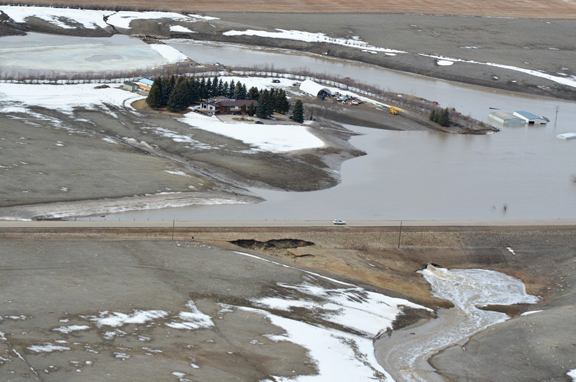 Town of Taber lifts state of emergency from flooding › The ...